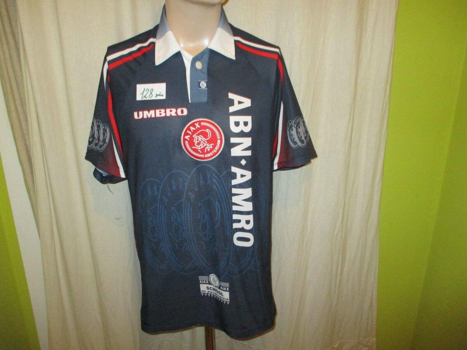 Ajax Amsterdam Original umbro Auswärts Trikot 1997 98  ABN-AMRO  Gr.L TOP