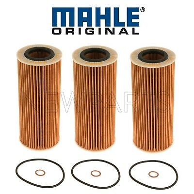 3 Pack Air Fuel /& engine motor Oil Filter Kit Set for BMW x5 35d xDrive35d E70