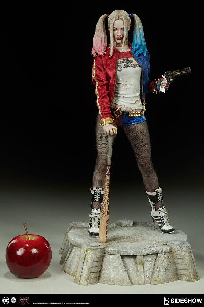 Dc Suicide Squad Harley Quinn Premium Format Figure Sideshow 300656