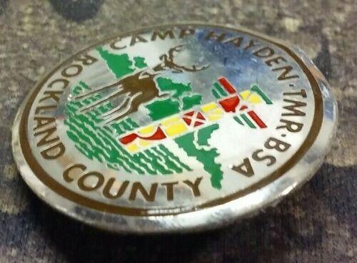 Camp Hayden TMR BSA Rockland County pin badge