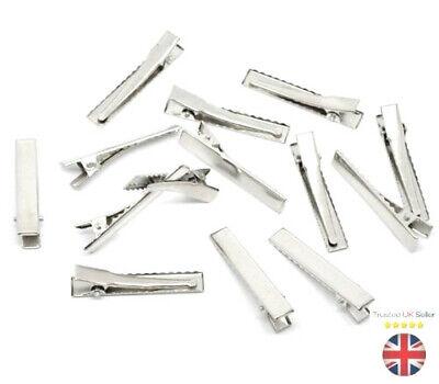 UK stock alligator clips,bows 99p for 2 SALE baby//girls hair slides