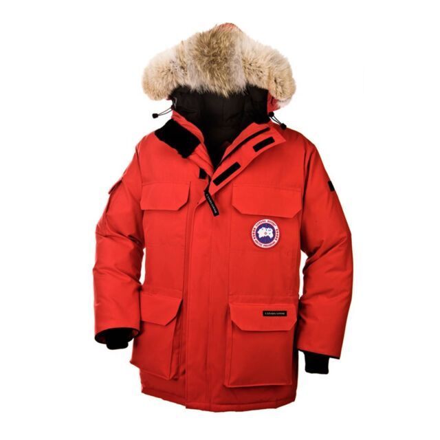 a23fe22a844 Canada Goose Mens Expedition Parka Coat Red 4565m Size S (small) for ...