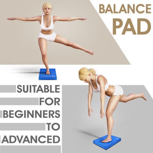 Exercise Balance Pad Yes4All Large Foam Balance Pad Blue