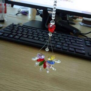 Prisms-Clear-Maker-Pendant-Rainbow-Ball-Chandelier-Hanging-Suncatcher-Decor