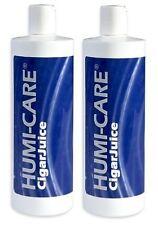 2 Pack Humi-Care 16 oz. Cigar Juice Propylene Glycol Humidor Brand NEW SEALED