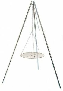 Tripod Grill And Lantern Hanger Camping Mountains Forrest