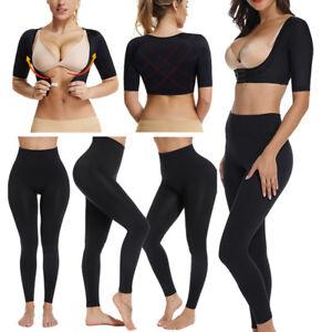 279d6652b4c96 Image is loading Women-Upper-Arm-Shaper-Sleeves-Shapewear-Posture-Corrector-