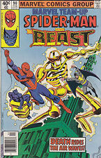 Marvel Team-Up #90 Amazing Spider-Man/The Beast 1980 Marvel Comics FREE USA SHIP