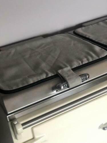 Everhot Chefs Pads Hob Lid Covers x 2 PAIR for 120 and 150 models