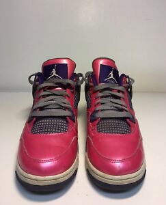798809dd991f discount code for image is loading air jordan 4 retro pink foil white cement  2a581 c9503