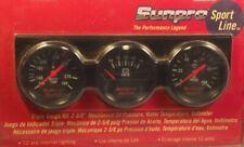 Sunpro Bklack Mechanical Triple Gauge Kit With Volt Meter Cp1204 2 58