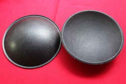 64mm woofer bass loudspeaker horn Speaker Dome paper Dust Cap 2 pcs OD