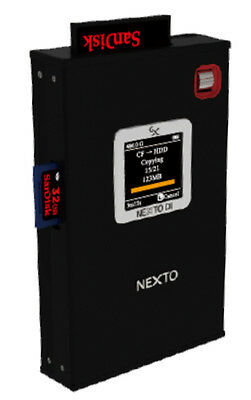Media Storage 750GB HDD for Portable High Speed Card Backup - with Preview