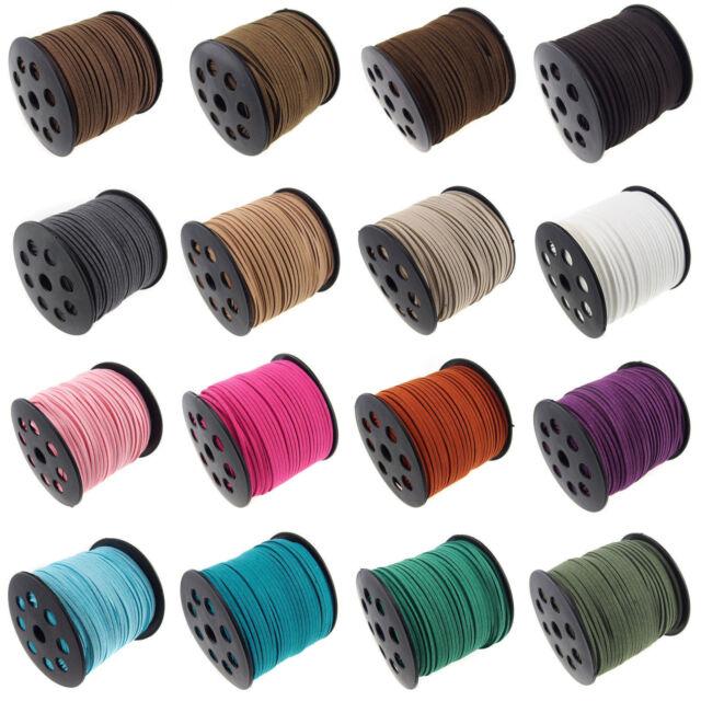 Fashion  velvet  frosting Cord Thread For DIY  Bracelet Necklace 5/100 Yard