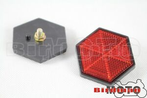 2pcs-6mm-Thread-Plastic-Red-Reflector-For-ATV-Truck-Dirt-Bike-Car-Bus-Universal