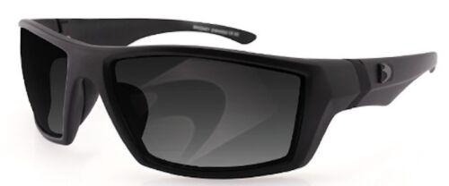 Smoked Anti-Fog Matte Black Frame Bobster EWHI002 Whiskey Ballistic Sunglass