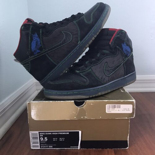 Nike SB Dunk High Twin Peaks Size 9.5 Night Owl - image 1