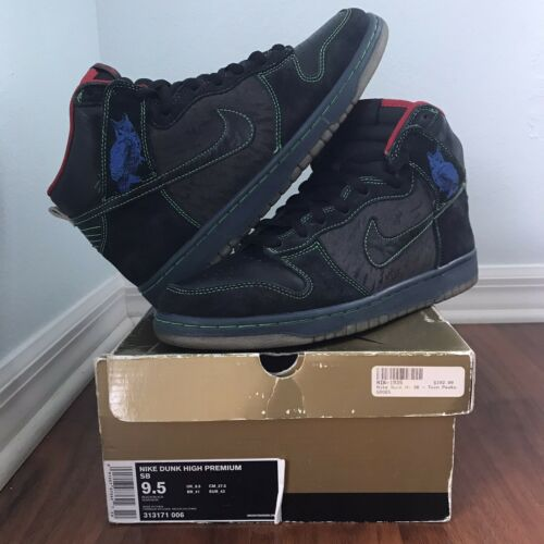 Nike SB Dunk High Twin Peaks Size 9.5 Night Owl