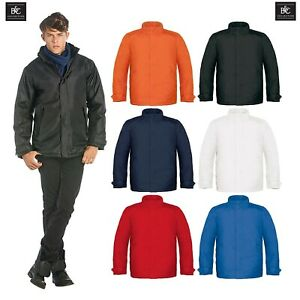 B-amp-C-Mens-Real-Heavy-Weight-Jacket-Waterproof-Padded-Winter-Hood-Coat-Sizes-S-3XL