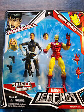 Marvel Legends Iron Man & Maria Hill  New 2 Pack