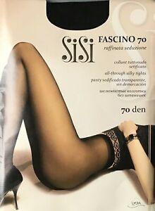 Seidig FEINSTRUMPFHOSE 70DEN ohne Oberteilverstärkung  Faschino Linie by SiSi