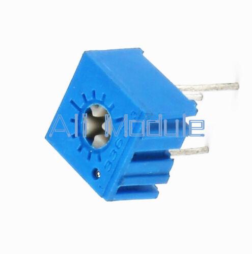 10Pcs 100ohm 3362P-101 3362 P High Precision Variable Resistor Potentiometer UK