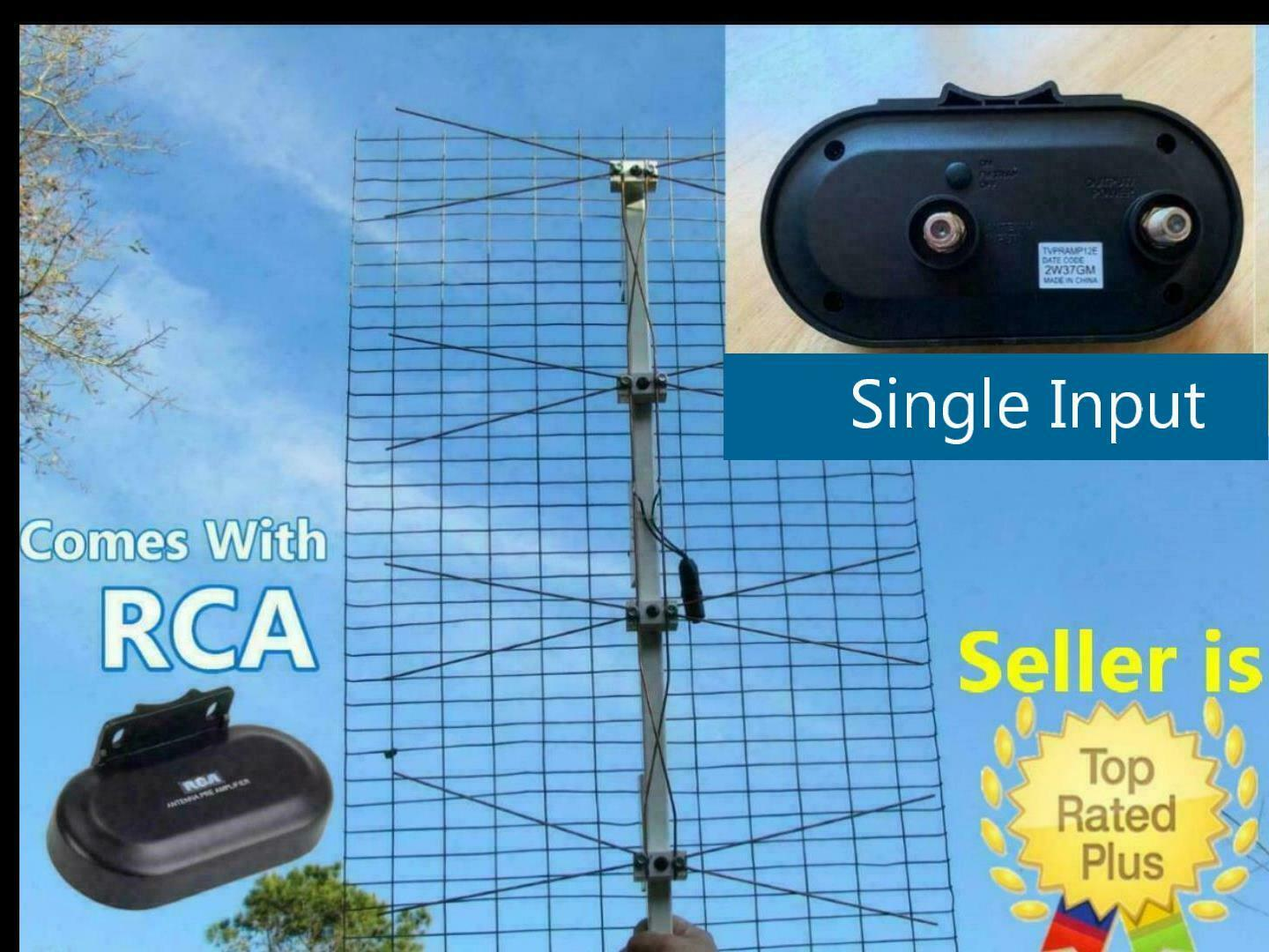 The Ultimate Outdoor TV Antenna Comes With RCA Preamplifier Booster. Available Now for 125.00