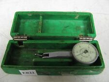 Federal Testmaster 001 Dial Test Indicator With Hard Plastic Case Used Er22