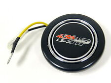 """CHEVY GM 436 HP LS3 UNIVERSAL 2/"""" RACING STEERING WHEEL HORN BUTTON"""