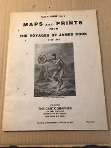 Maps & Prints from the Voyages of James Cook 1768-1780.  The Cartographer 1977