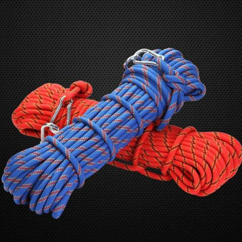 1M Mountaineering Rock Climbing Rope Heavy Duty Outdoor Safety NhLHe VtLnR chw/_