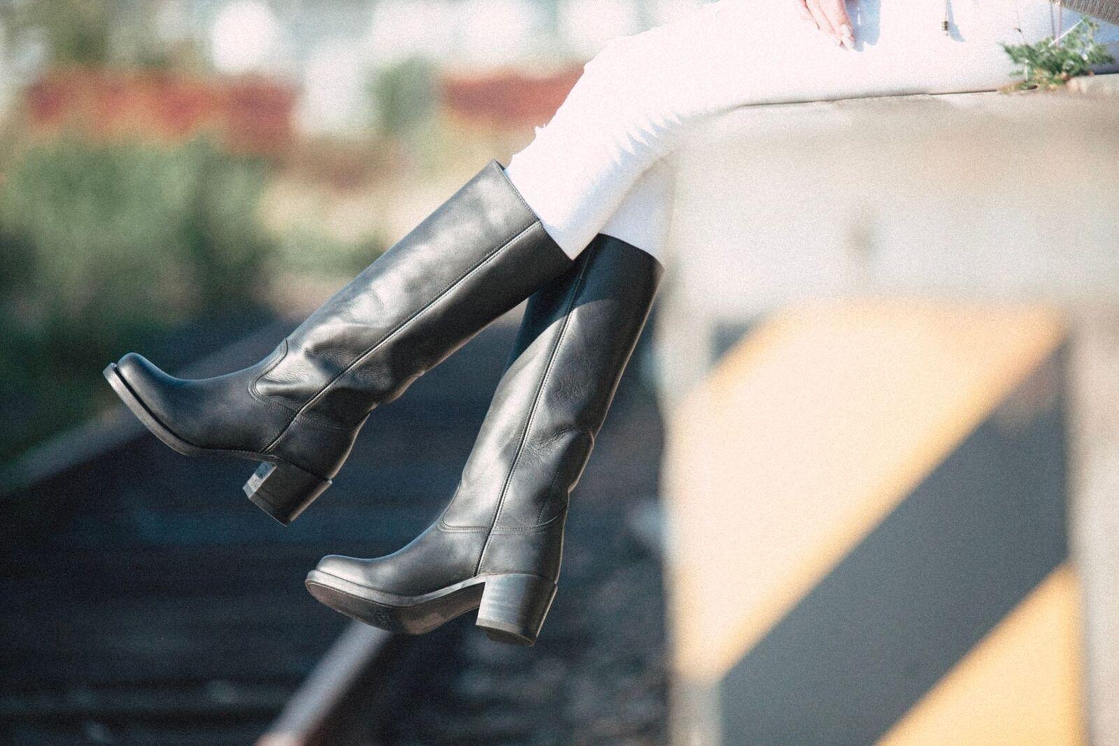Sendra botas 12987 Gracy estrella negra de botas señoras de cuero para señoras botas negro mujer botas 55a743