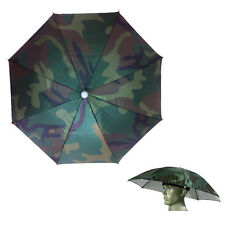 Regenschirm Sonnenschirm Hut Sport Stirnband Kappe Angeln Camping Kopfbedeckung