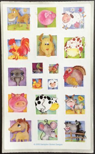 Animals Vintage Sandylion Stickers Mint Condition!!