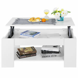 Lift Up Top Coffee Table Mechanism Furniture Laptop Storage