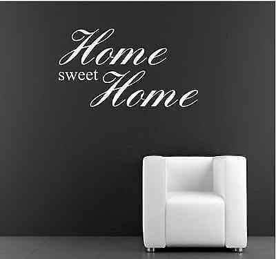 Home Sweet Home wall Decal Wall Decals & Stickers