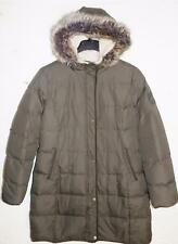 Ralph Lauren Women's Faux Fur Hooded Puffer Jacket / Coat NWOT Size L MSRP $295