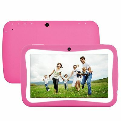 """7"""" Tablet PC For Kids Children Education Quad Core 8GB Dual Cam Android 5.1 FUN"""