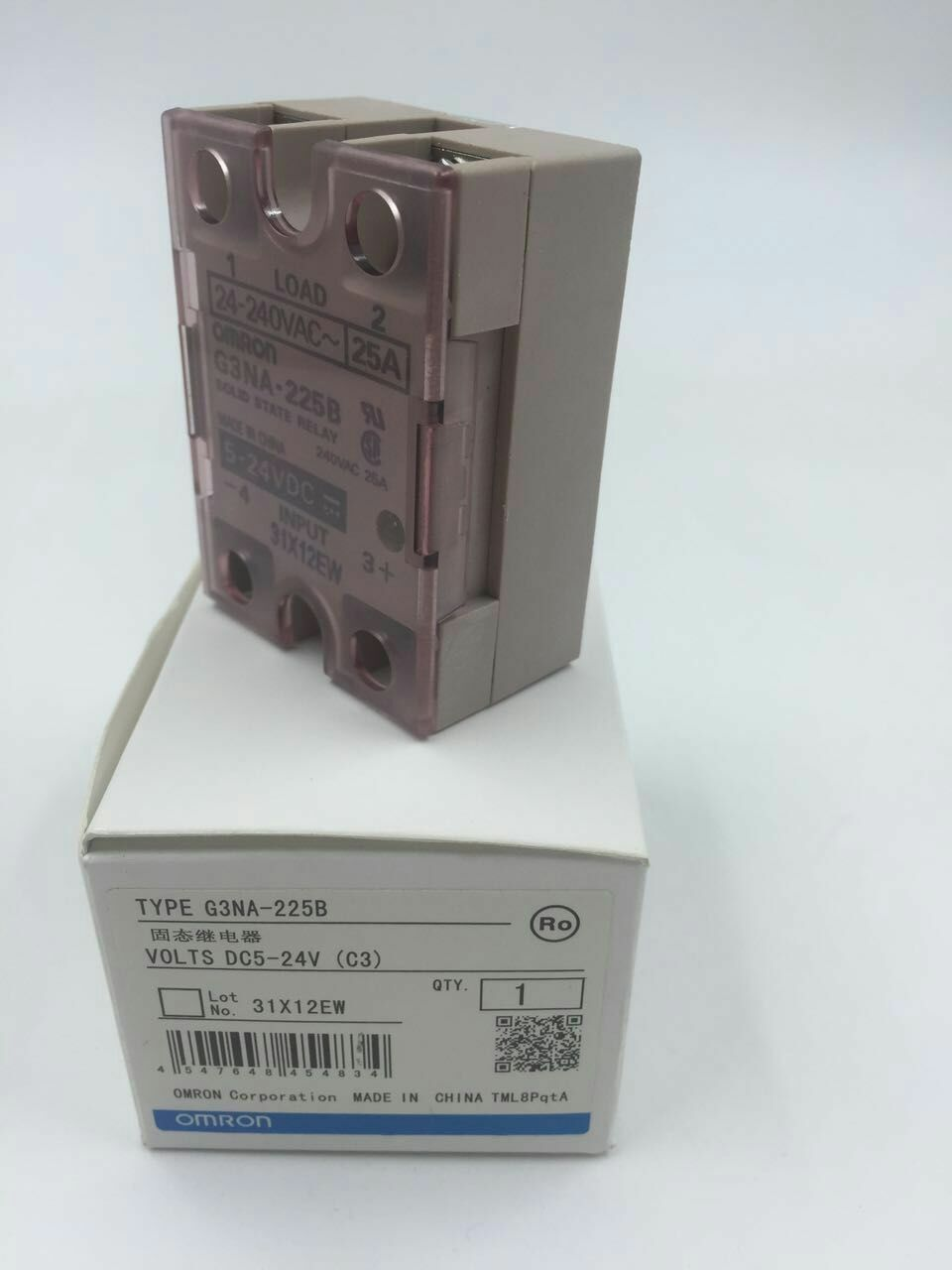 1pc New OMRON Solid State Relay G3NA-225B