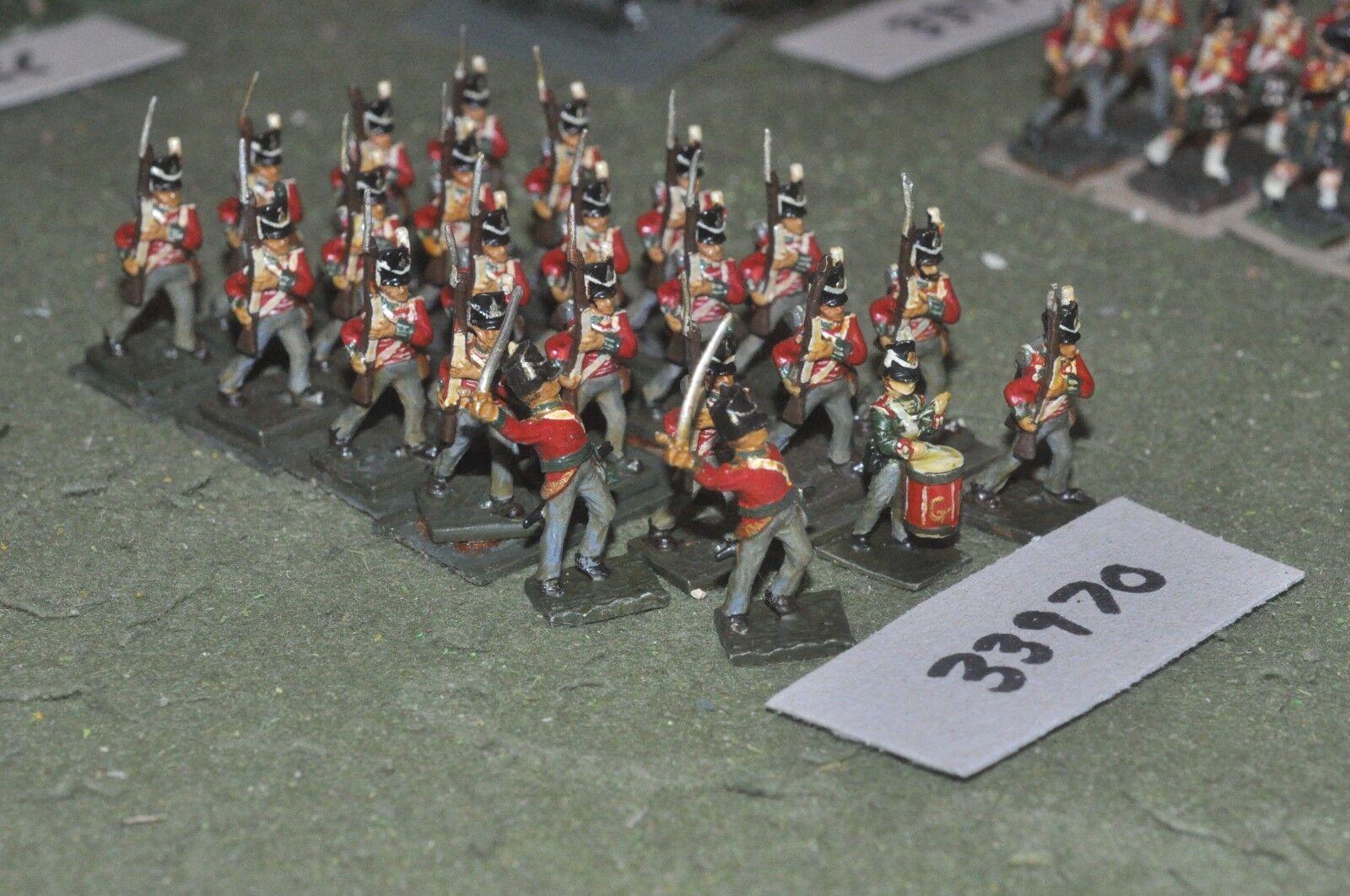 25mm napoleonic     british - line 23 figures - inf (33970) 1920be