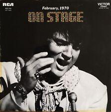 Elvis Presley - On Stage - February 1970 - Vinyl LP 33T