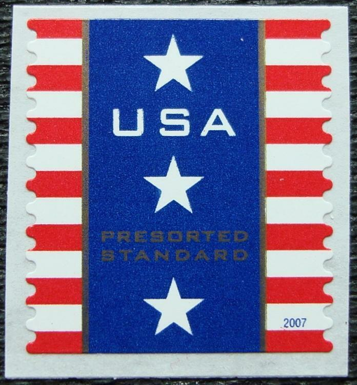 2007 10c Patriotic Banner, Coil Scott 4158 Mint F/VF NH