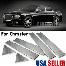 Chrome Pillar Posts For Chrysler 300c Amp Dodge Magnum 05 10 6pc Set Door Trim Us Fits Chrysler 300