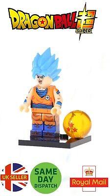 Nuova Figure Custom Compatibile LEGO Goku Super Sayan 4 Dragon Ball DBS