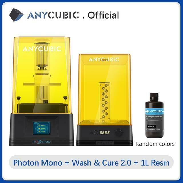 ANYCUBIC Photon Mono 3D Printer UV Resin Printers with 6 inch 2K Monochrome LCD