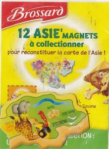 AIMANT-MAGNET-BROSSARD-COLLECTION-ASIE-MONGOLIE-NEUF-SOUS-BLISTER