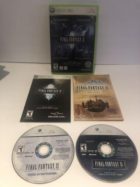 Xbox 360: Final Fantasy XI Online Vana' Diel Collection ~ CIB ~ FREE SHIPPING