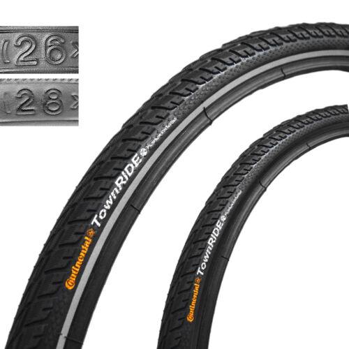 Continental TownRide DrahtReflex 26x1,75 47-559 schwarz Fahrrad Reifen Reifen