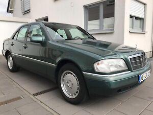 Mercedes-C180-W202-Elegance-aus-1-Hand-nur-48273km-Scheckheft-gepflegt