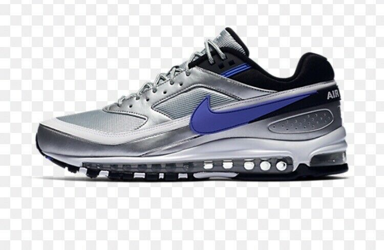 Nike Nike Nike Air Max 97 BW Men's shoes - Metallic Silver Black White Purple 75a7ac